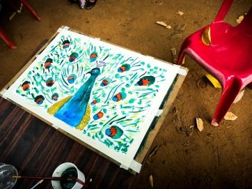 A beautiful work by one of Sahodari's Senior members