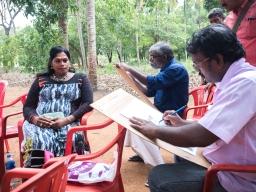 Our girls inspiring the artists of Varakootam